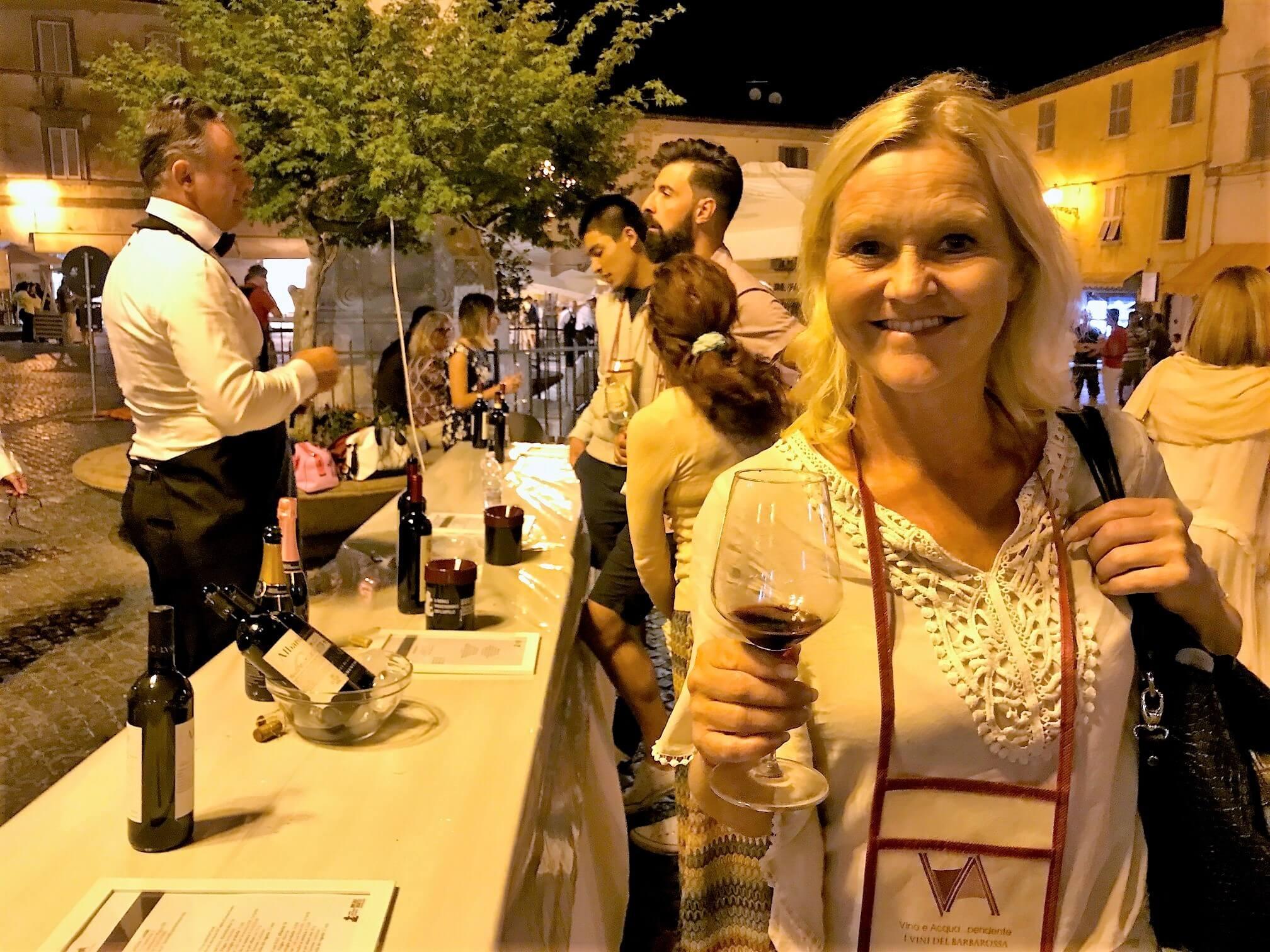 Vinfestival i landsbyen – beste vin?