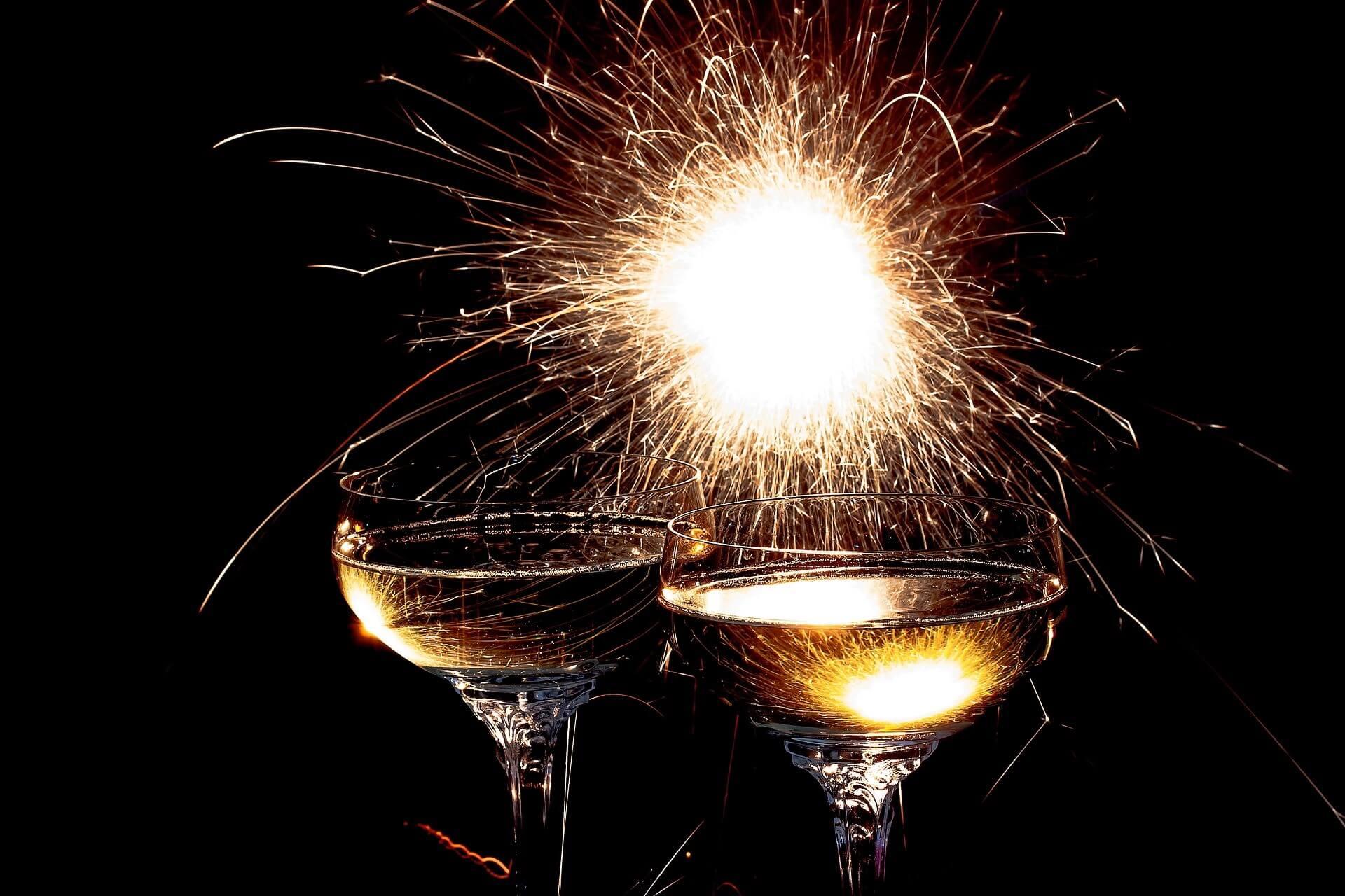 Nyttårsfeiring med bobler – Godt Nytt År!