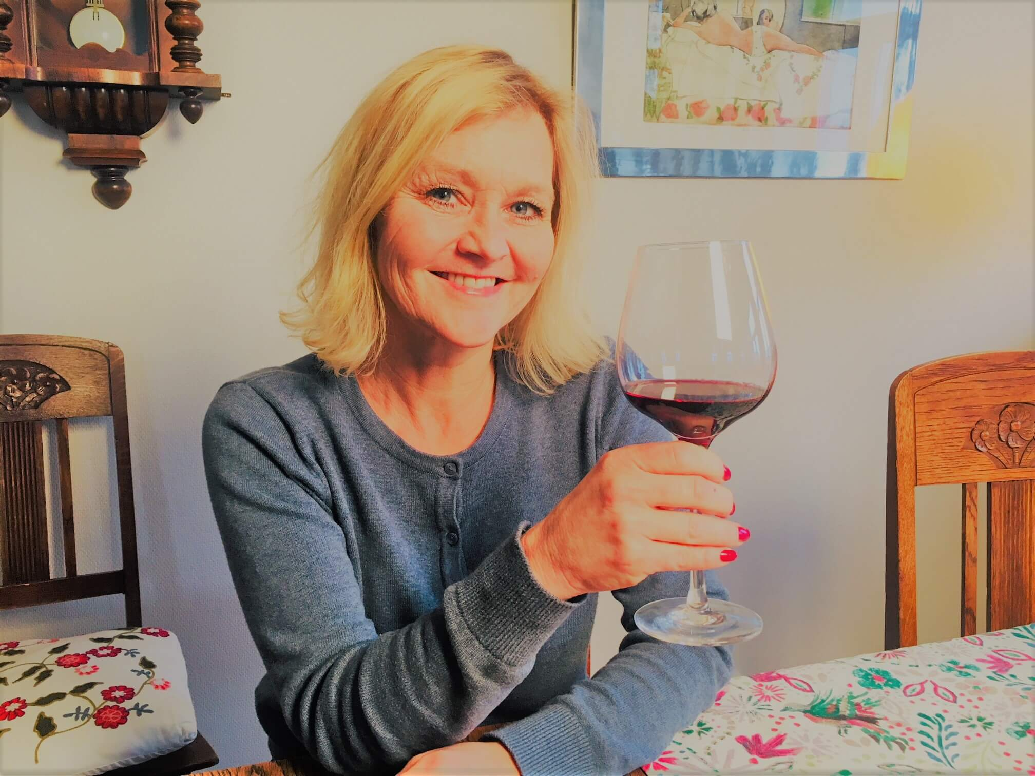 Snurre glasset og få mer ut av vinen