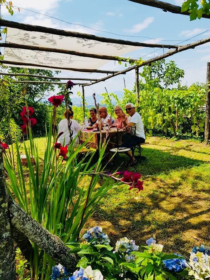 Bellissima vingårdsbesøk hos Anne