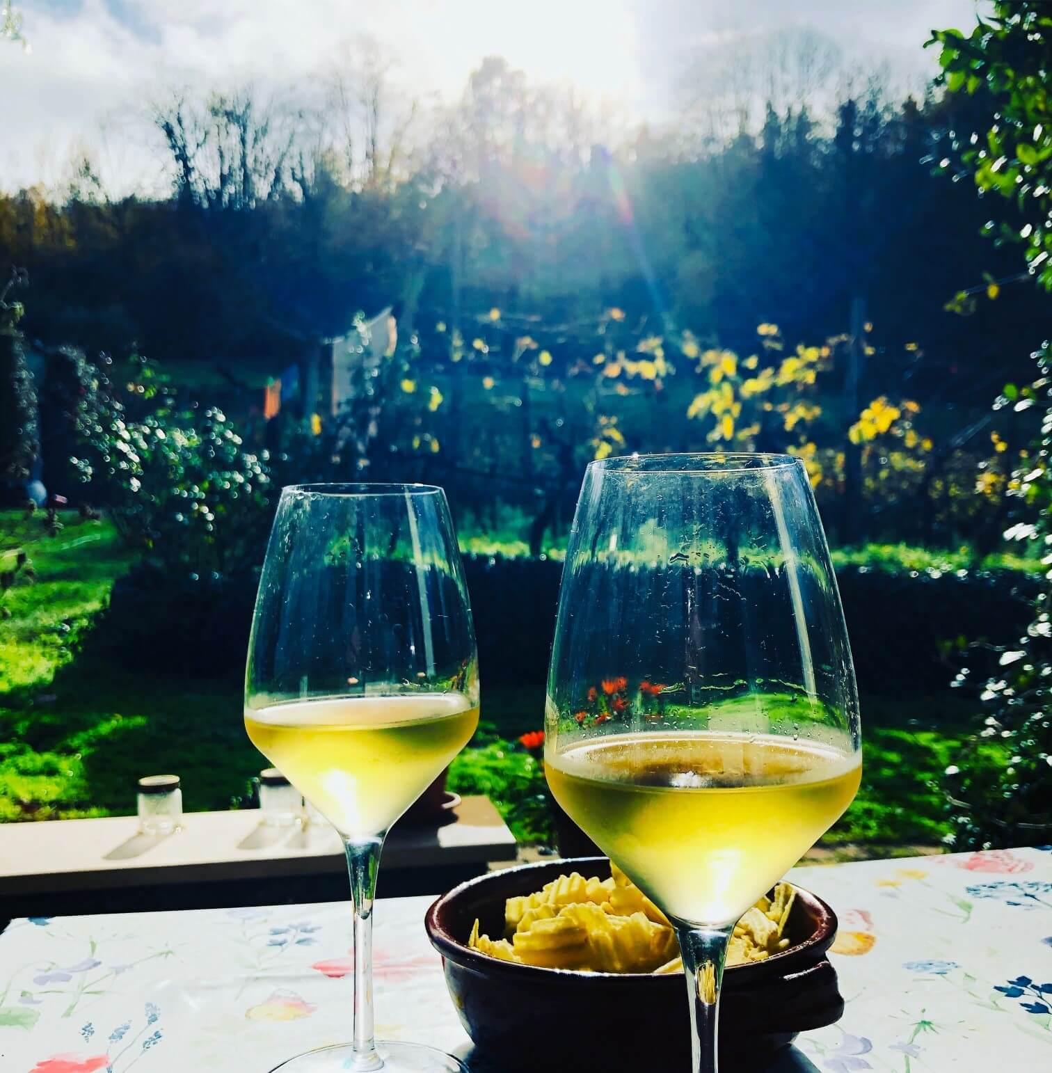 Vakker tid for arbeid med vin og bunnfall