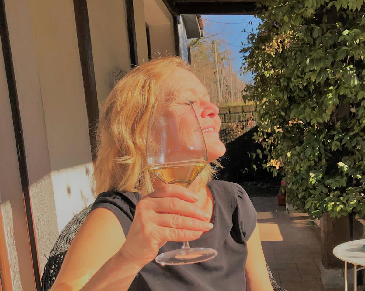 Vakker og mild vinter på vingården