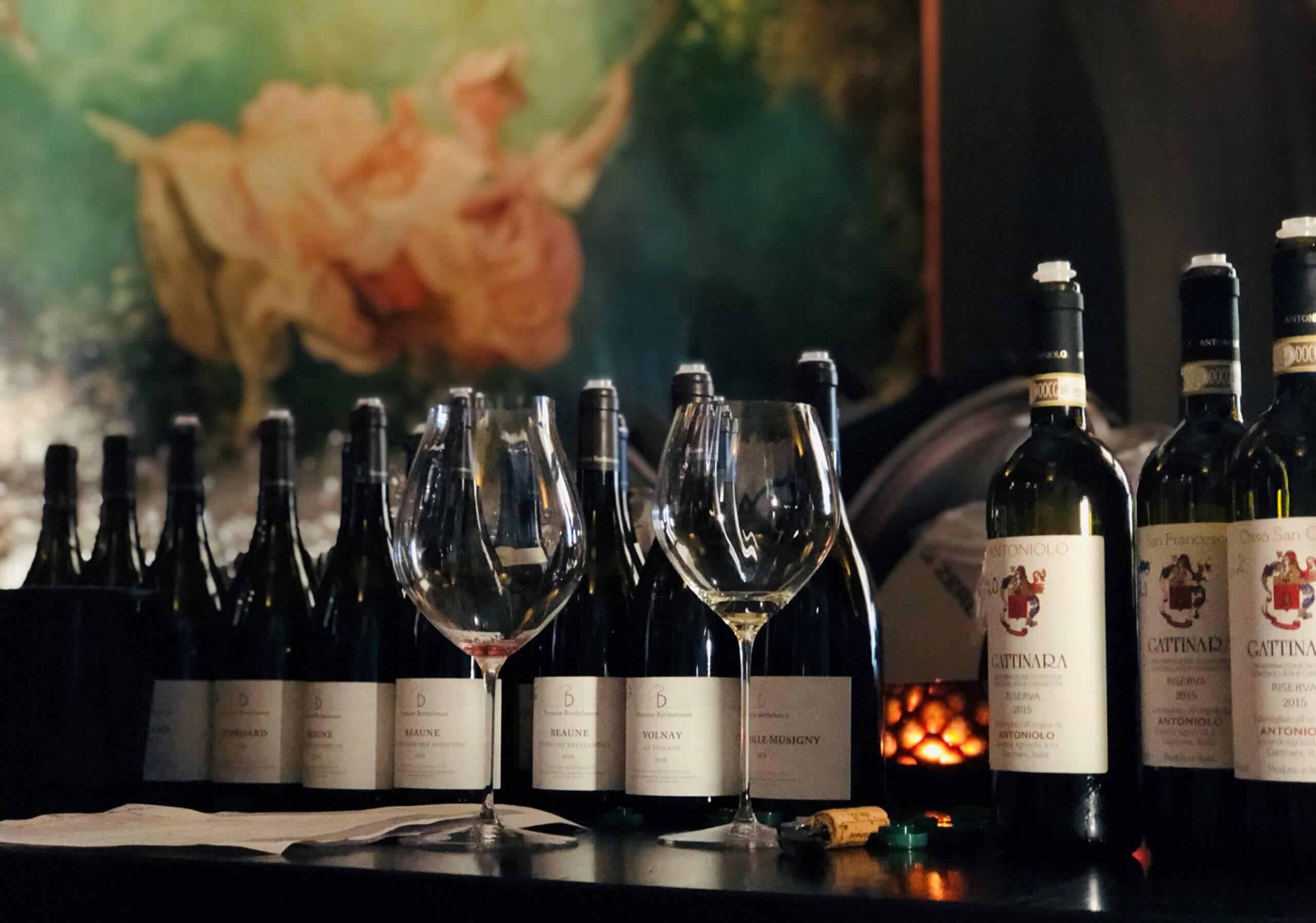 Nye druer og viner – vinslipp september